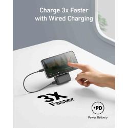 """19\"""" ventilační jednotka, 2 ventilátory, LCD display, termostat, hloubka 200mm, černá"""