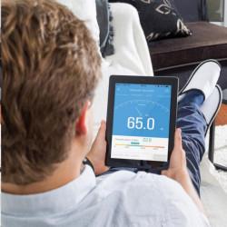 Garmin monitorovací náramek a hodinky vívofit3 Black (vel. L)