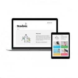 Garmin GPS sportovní hodinky fenix5S stříbrné, bílý řemínek