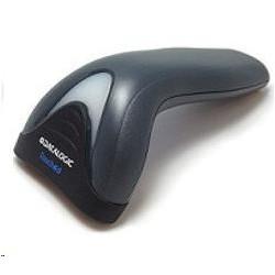 SPC Gear SR300 BK herní židle černá - kožená