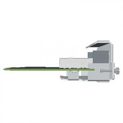 ZebraTT tiskárna ZD500, 300 dpi, USB/RS232/Centronics Parallel/LAN, Peel