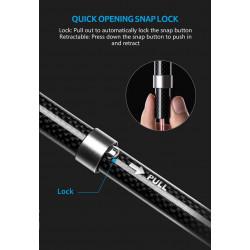 "Veria Ekonomická řada 7"" LCD ultra tenkého dotykového monitoru + vnější panel s barevnou CMOS kamerou 110-white"