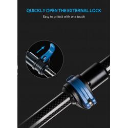 "Veria Ekonomická řada 7"" LCD ultra tenkého dotykového monitoru + vnější panel s barevnou CMOS kamerou 110-black"