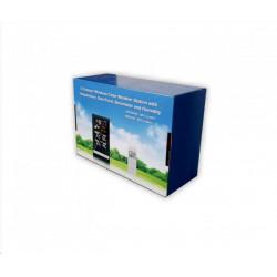 Pokojová anténa SV9421, zesilovač 42dB, filtry 3G-GSM, 4G-LTE, UHF/VHF, DVB-T/T2/DAB, vhodné pro zakřivené TV