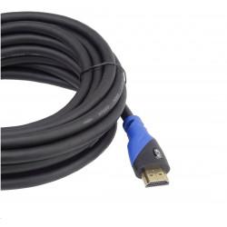 GEMBIRD sluchátka s mikrofonem Detroit, černá