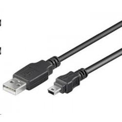 C-TECH myš WLM-02, černá, bezdrátová, 1600DPI, 6 tlačítek, USB nano receiver