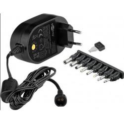 OMEGA myš OM-416, bezdrátová 2,4GHz, 1600 dpi, nano USB přijímač, černá