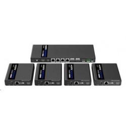 OMEGA myš OM-416, bezdrátová 2,4GHz, 1600 dpi, nano USB přijímač, zelená