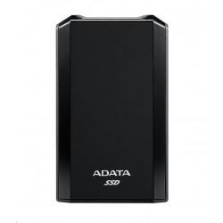 """AKASA HDD box Noir 2SX, 1x 2,5\"""" SATA HDD/SSD, USB 3.1, broušený černý hliník"""