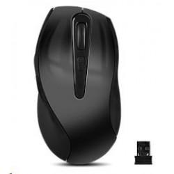 Panasonic stereo sluchátka RP-HS34E-R, 3,5 mm jack, červená